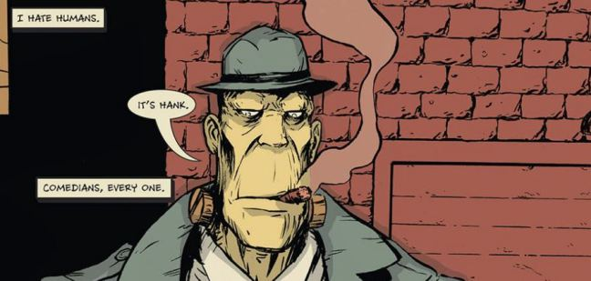 Hank Steiner Monster Detective