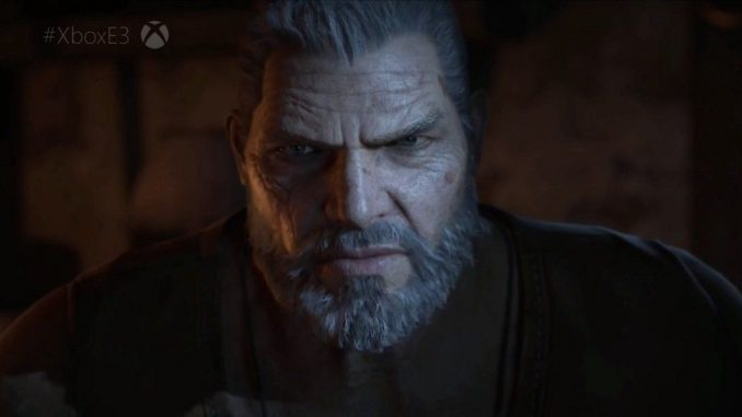 Marcus from Gears of War